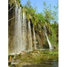 Plitvicei-tavak, Mali Prštavac vízesés