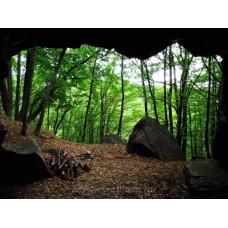 Kilátás a Remete-barlangból