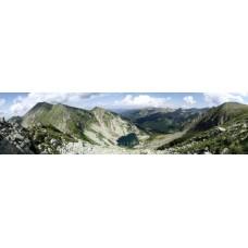 A Zergebak-tó és a Nagy-csúcs
