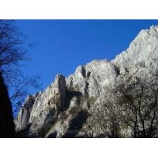 A Tordai-hasadék sziklafalai #1